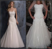 WDS-53 2014 Newest Real Made Factory Sexy Cheap Lace Sweetheart Off the Shoulder Gown Wedding Dresses For Sale