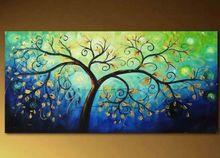 cheap blue art