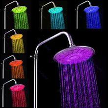 cheap led rain shower
