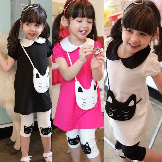 Комплект одежды для девочек AL , Childre t , TZ
