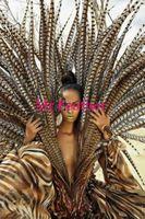 Free shipping 50pcs Natural Pheasant Tail Feather 100-110cm lady amhurst pheasant tail Feathers For carnival