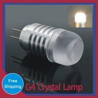 NEW Corn Bulb Droplight Chandelier COB SMD 3020 Spot Light Cool/Warm White 360 degree 20pcs G4 LED Lamps AC/DC 12V 3WCrystal