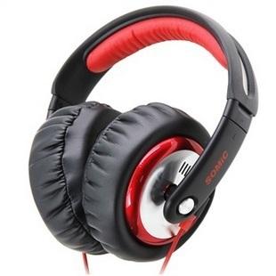 Marca sômica auscultadores MH489 DJ Monitor de fone de ouvido fones de ouvido música HIFI graves profundos Stereo Gaming Headset fone de ouvido melhor presente(China (Mainland))