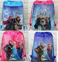 Wholesale 120pcs Cartoon  cute  shoe bag, shoe pouch, gift bag, drawstring bag schoolbag shoulderbag free shipping
