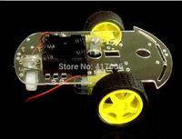 2WD V8 Smart Car Chassis Robot Tracking Coded Disc V8