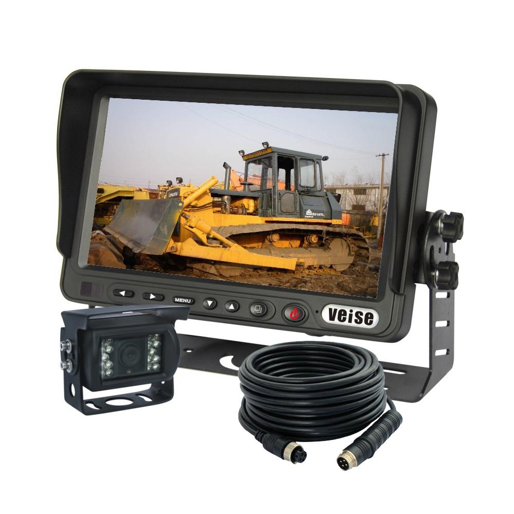 """7"""" Digital Truck Back Up Rear View Camera Kit Sharp CCD IR Car Rear View Camera(China (Mainland))"""