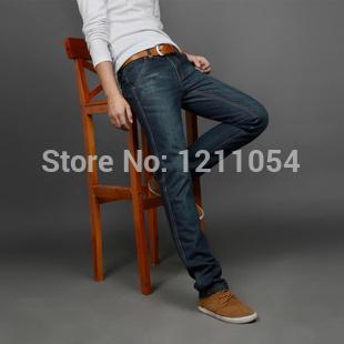 men brand name lev jeans men famous brand and lewis men jeans leisure denim pants(China (Mainland))