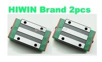 HIWIN Brand 2pcs for 20mm linear rail guides block HGH20CA