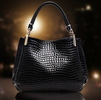 2014 new style women handbag fashion women messenger bag Brilliant pattern one shoulder bag dinner handbag women PU leather bag