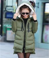 free shipping women long lenth casual down jacket 2014 winter brand down parka goose down jacket 157.92