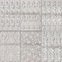 slivert foil nail sticker  transferable nail art sheets for Full Nail art sticker 10 pcs 6 designs mixed batch free shipping