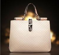 2014 western style women handbag women fashion casual bag one shoulder bag women messenger bag portable women PU leather handbag