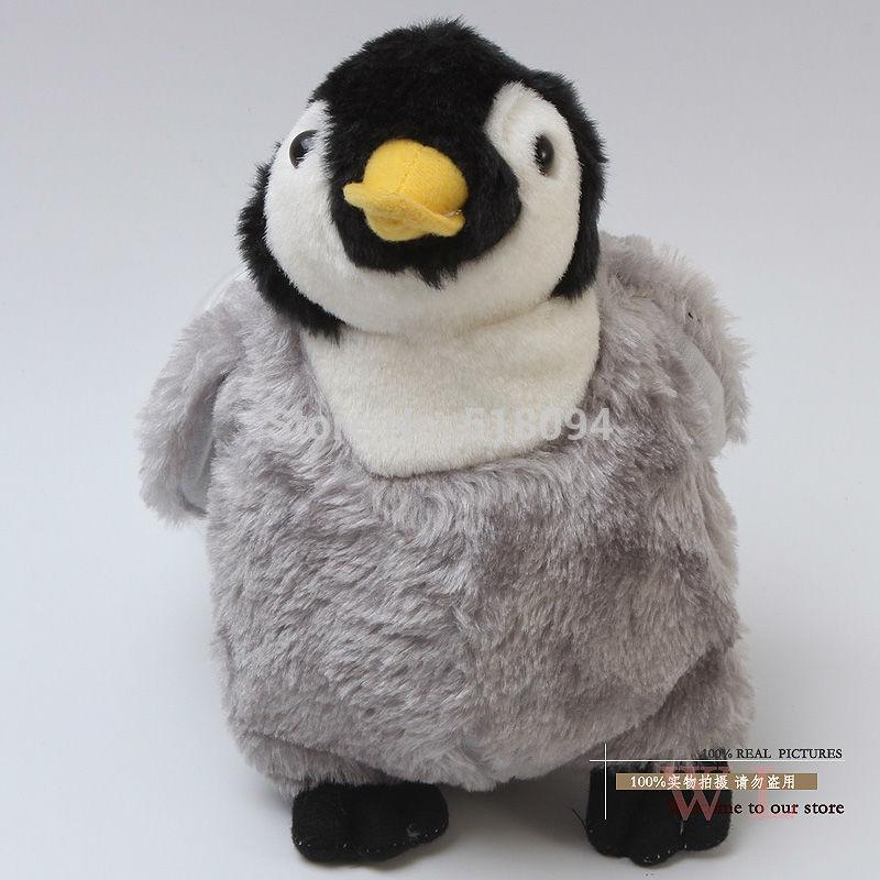 Делай ноги Пингвин игрушка плюшевая кукла
