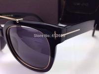 Hot Sale Free Shipping 2014 New Fashion Designer Brand Sunglasses Tom men glasses 2 Colors