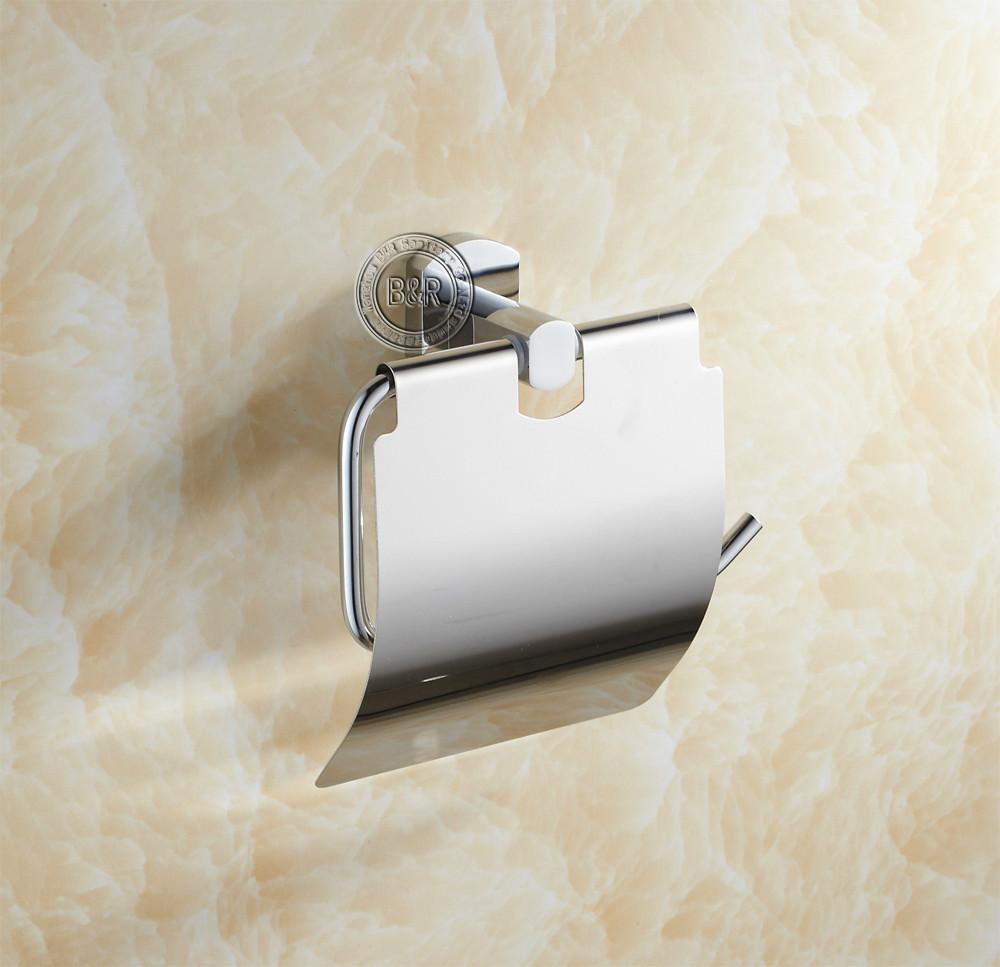 Держатель для туалетной бумаги B&R br/16010 BR-16010 держатели для туалетной бумаги blonder home держатель туалетной бумаги