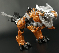 New 2014 arrival Movie 4 Dinobots Robot Dinosaur Tyrannosaurus Grimlock classic toys for boys action figures with box