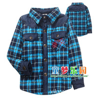 Free Shipping Boys Jackets New 2014 Hot-selling  Cotton Clothing Set Children Outerwear Autumn and Winter Y202
