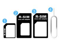 SIM card adapter change and transfer among micro sim / standard sim / nano sim