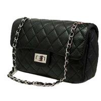 Quilted handbag new 2014 free shipping black packet chain shoulder women messenger bag women leather handbags