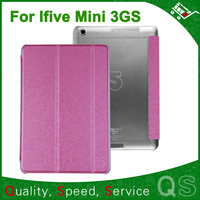 Original Leather Case for FNF iFive mini 3gs MTK6592 Octa Core 3G Phone Call Tablet PC