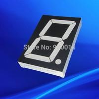 High brightness  8 inch   white large led  display 7 segment one digit