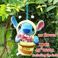 1pcs New 2014 45*22cm Kawaii Cute lilo and stitch Storage Bags Organizer Home Decor & Organization organizador Novelty Household