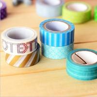 Free ship 1lot=20pcs/korean stationery kawaii DIY necessary Pure and fresh and lovely tape/washitape/school supplies