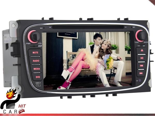 DVBT Dash DVD Player GPS Can Bus For Focus Mondeo S-max Galaxy Tourneo Transit(China (Mainland))