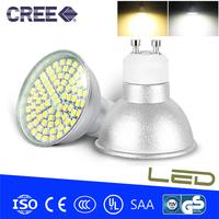 4pcs/lot GU10 E27 LED 9W 220V 3528SMD Warm white/Cold white 80 LED Spot Light LED Bulb Lamp