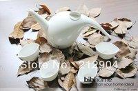Free Shipping Small Waterdrop Bone China Tea Set Teapot Cup Japanese Style Gift