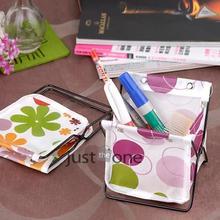 1 pcs Folding Multifunction Sundry Holder Rack Make-Up Cosmetic Storage Box Container 10x11x12 cm(China (Mainland))