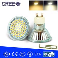 4pcs/lot, GU10 MR16 E27 LED 4W 220V 3528SMD 60 LED Spot Light Warm white/Cold white LED Bulb Lamp Energy Saving 450LM