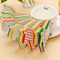 5098 Free shipping New arrival fashion multicolour mini horse memo pad stationery loose leaf