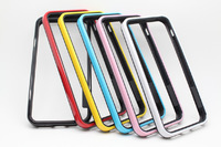 Borderline Dual color TPU+PC Frame Hybrid Bumper Case Cover For Iphone 5 5G 5S Free Shipping