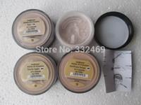 2pcs/lots New Loose Powder Bare Minerals BareMinerals Original Sunscreen Spf 15 Foundation  8g  0.21oz Click/Lock