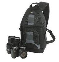 New Lowepro SlingShot 200 AW Photo Camera Sling Shoulder Bag DSLR Digital SLR Backpack+Rain Cover for nikon and canon