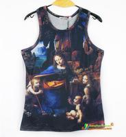 Cool,new Hot Sale Real 2014 Women/men Skull/cartoon 3d T Shirt /3d men tshirt/fashion men tshirt/fashion summer dress