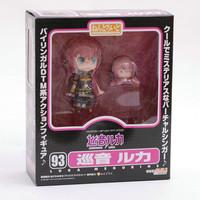 Free Shipping 1pc Cute 10cm Nendoroid Vocaloid Hatsune Miku Megurine Luka PVC Action Figure Model Collection Toy #93