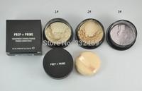 1PCS Loose powder PREP+PRIME brand makeup makeup face powder +powder puffs 9g Free shipping