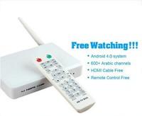 cheapest Arabic IPTV box,arabic tv box ,android tv box ,no monthly fee Arabic tv box support 600 HD Arabic channel than loolbox