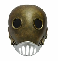 new hot Kroenen Nazi face Mask bronze Hellboy Movie Adult Head Prop Replica Theater Costume Masquerade  Halloween Party Cosplay