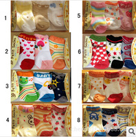 2014 new Multi-colors Cotton baby socks New born Baby socks booties 7 groups available!