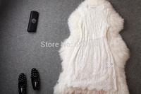 2014 brand new women's spring summer fashion wear European top brand fashion LACE dress  elegance party dress T1801