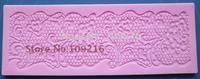 Free shipping!!1pcs Mini New Style 17.6*7.4*0.5CM Lace (Tyy-602) Silicone Handmade Fondant/Cake Decorating DIY Mold
