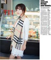 Chiffon Fashion autumn -summer ice silk Scarf  Tassel  Scarf, Stole, Shawl, wrap, Long size Cape for women / girl, ,   T11