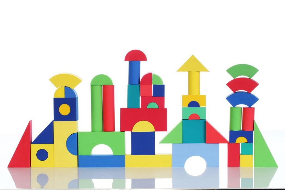 Construction Building Blocks Blocks Kids Foam Building