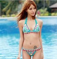 Sexy promotion woman bikini set free shipping,high waisted bathing suits push up bikini brazilian brand victoria swimwear