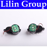 (For B2000,B3000)Side Brush Motors Assembly for Robot Vacuum Cleaner,Include Left Motor Assembly x 1pc+Right Motor Assembly x1pc