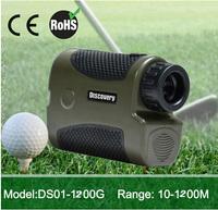 China Speed measurement Golf Rangefinder 1200m pinseeking OEM ( with pinseeking funtion)