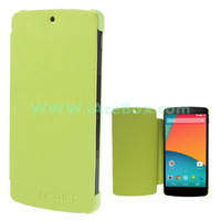 Free Shipping+for Google LG Nexus 5,Leather Flip Case with Back Plastic Shell for LG Google Nexus 5 D820 D821